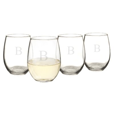 Personalized 21 oz. Stemless Wine Glass 1110-B