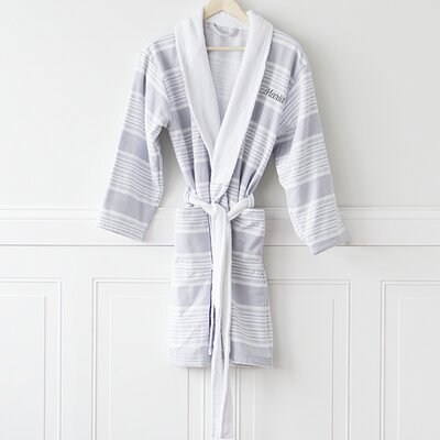 Personalized Turkish Cotton Bathrobe
