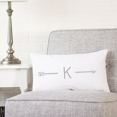 Fernando Personalized Lumbar Pillow Letter: K