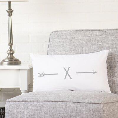 Fernando Personalized Lumbar Pillow Letter: X