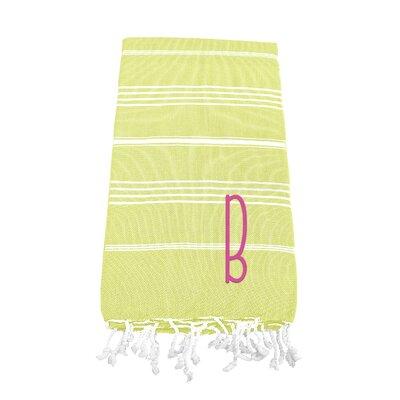 Dahle Beach Towel Letter: B