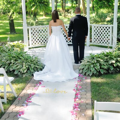 Love Design Wedding Aisle Runner