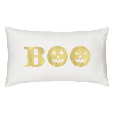 Boo Cotton Lumbar Pillow