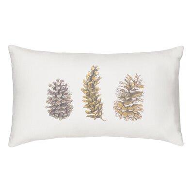 Cerenishti Pinecone Cotton Lumbar Pillow