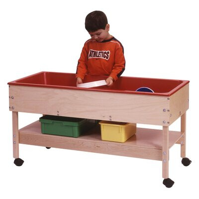 Sand and Water Table with Shelf SWP1030