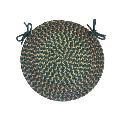 Blossom Teal Round-15 - Chair Pad (set Of 4)