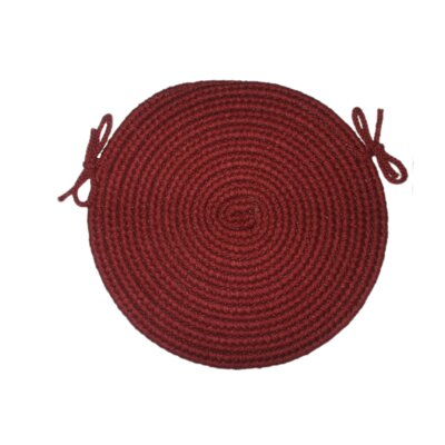Tapestry Red Wine Round-15 - Chair Pad (set Of 4)