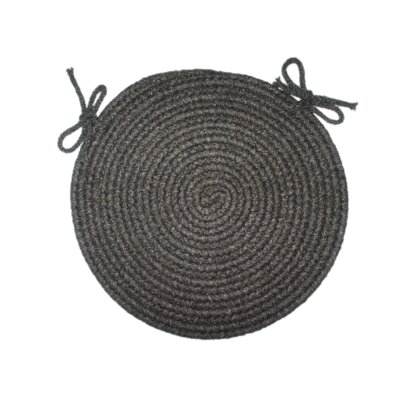 Tapestry Black Round-15 - Chair Pad (set Of 4)