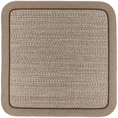 Browdy Banded Mocha Area Rug Rug Size: Rectangle 4 x 6
