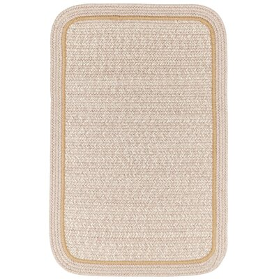 Browdy Banded Sesame Area Rug Rug Size: Rectangle 2 x 4