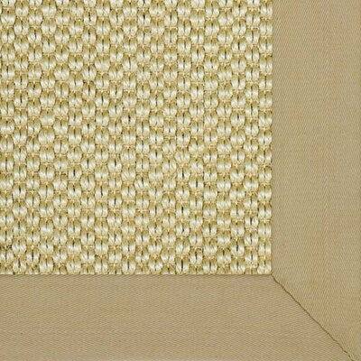 Siskiyou Straw Bordered Area Rug Rug Size: 710 x 10
