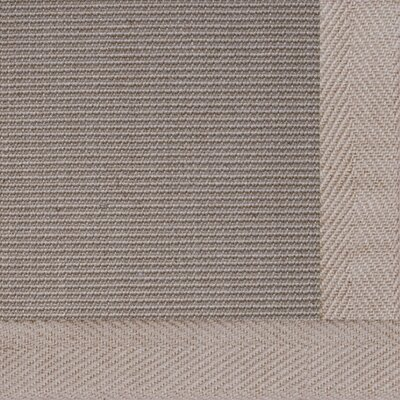 Jute Textured Boucle Medium Bordered Natural Outdoor Area Rug Rug Size: 4 x 6