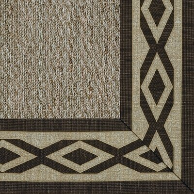 Botanical Blends Spring Twine Meadow Labyrinth Bordered Green Area Rug Rug Size: 7'10