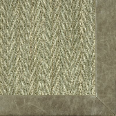 Botanical Blends Hacienda Herringbone Pasture Bordered Area Rug Rug Size: 710 x 10