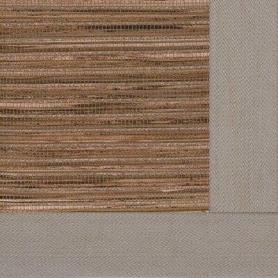 Cheena Dynasty Straw Bordered Area Rug Rug Size: 4 x 6