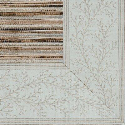 Cheena Heritage Vanilla Vine Bordered Area Rug Rug Size: 9 x 12