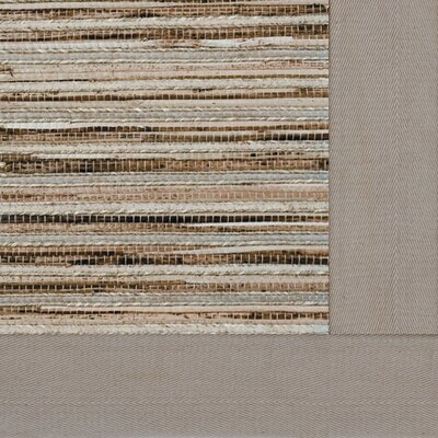 Cheena Heritage Straw Bordered Area Rug Rug Size: 3 x 5