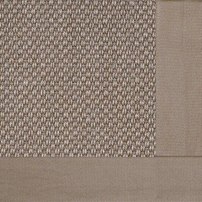Coastal Classic Sierra Granola Bordered Rug Rug Size: 9 x 12