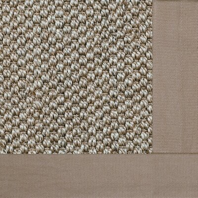 Siskiyou Granola Bordered Brown Area Rug Rug Size: 710 x 10