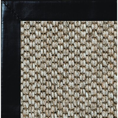 Siskiyou Smooth Leather Bordered Area Rug Rug Size: 9 x 12