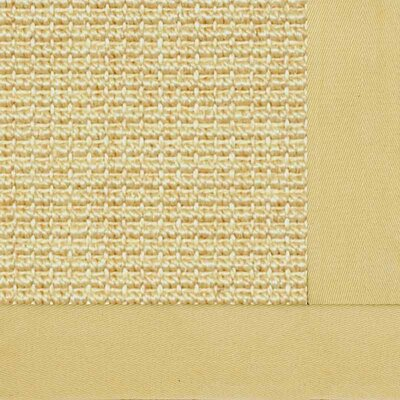 Paradise Retreat Jumbo Boucle Honeycomb Bordered Area Rug Rug Size: 4 x 6