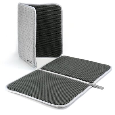 Silva Dry Dock Dish Mat Finish: Gray