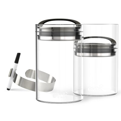 Evak 5-Piece Compact Food Storage Container Set 3025