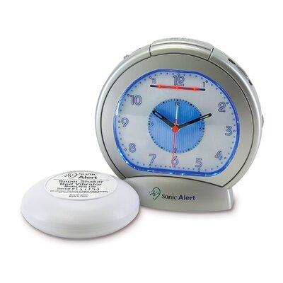 Sonic Alert Sonic Boom Vibrating Analog Alarm Clock