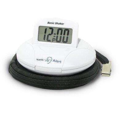 Sonic Boom Portable Vibrating Alarm Clock SBP100