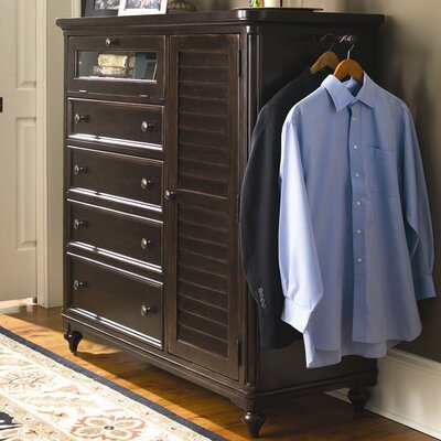 Steel Magnolia 4 Drawer Gentlemans Chest Color: Tobacco