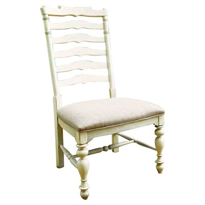 Captain Mikes Side Chair (Set of 2) Finish: Linen