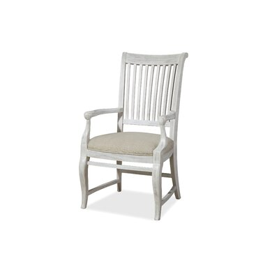 Dogwood Arm Chair (Set of 2) Finish: Blossom White