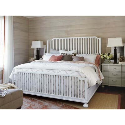 Dogwood Slat Headboard Size: Queen, Finish: Blossom White