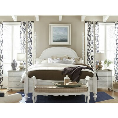 Helena Bed in Cobblestone Gray