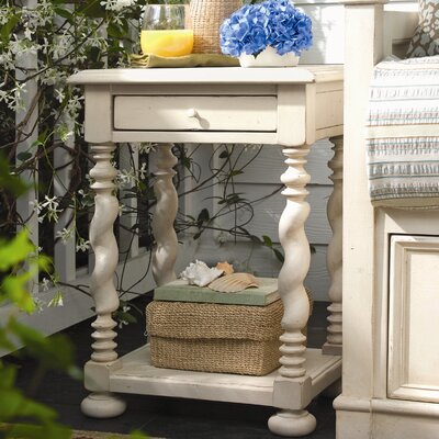 Sweet Tea End Table Finish: Linen
