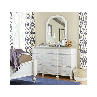 Dogwood 9 Drawer Dresser with Mirror