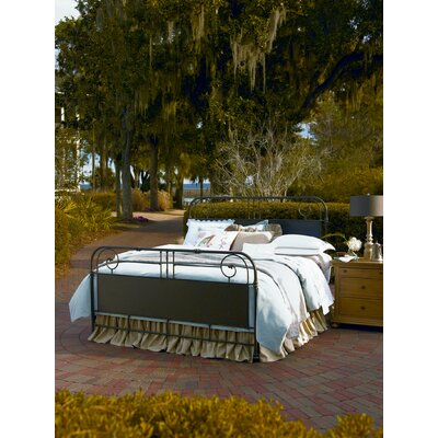 Down Home Panel Bed Size: King