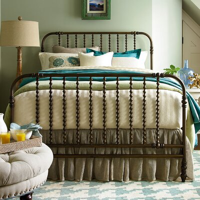 River House Panel Bed Size: King