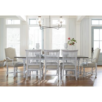 Dogwood Extendable Dining Table Finish: Blossom White