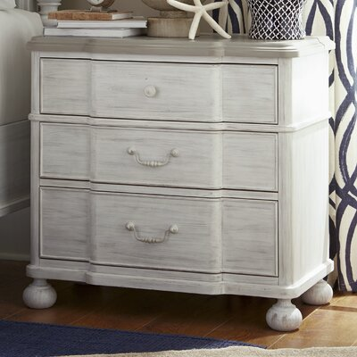 Dogwood 3 Drawer Nightstand