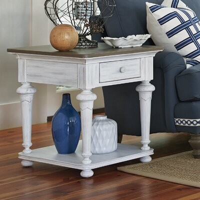 Dogwood End Table Finish: Blossom White