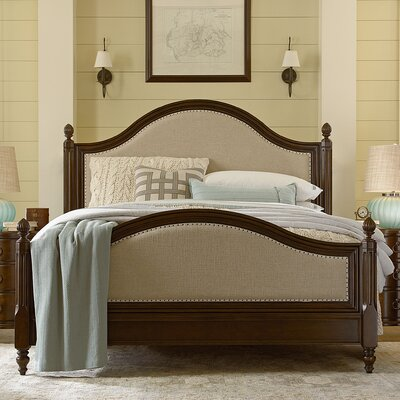 River House Upholstered Panel Bed
