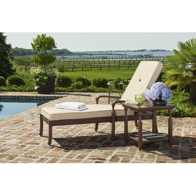 River House Chaise Lounge with Cushion