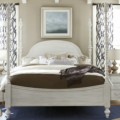 Dogwood Panel Headboard Size: Queen, Color: Blossom White