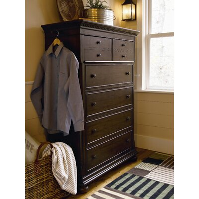 Down Home 6 Drawer Chest Color: Distressed Molasses