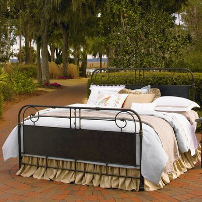 Down Home Panel Bed Size: Queen