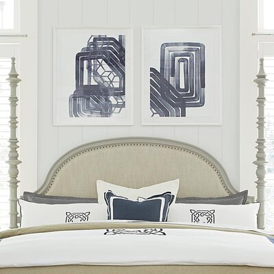 Dogwood Panel Headboard Size: King, Color: Cobblestone