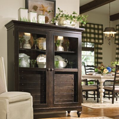The Bag Lady's China Cabinet Finish: Tobacco