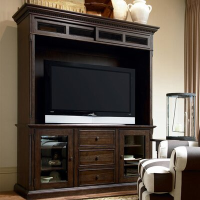 Down Home Entertainment Center Color: Distressed Molasses