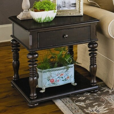 Sweet Tea End Table With Storage� Color: Tobacco